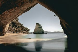 Cathedral Cove in Neuseeland von Sophia Eerden