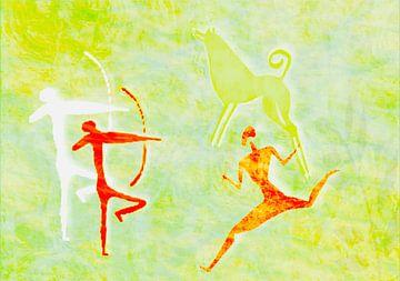 Wandmalerei von Rosi Lorz