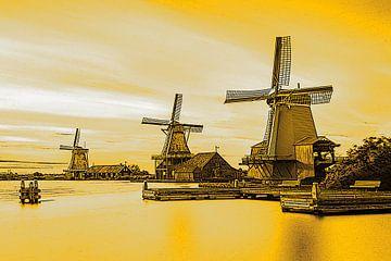 Gouden Windmolens van Hendrik-Jan Kornelis