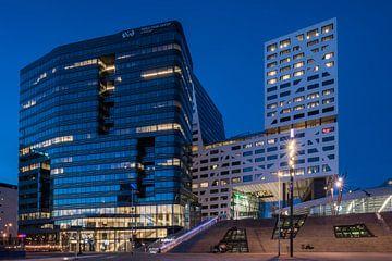 Le WTC Utrecht et le bureau de la ville d'Utrecht se trouvent juste à côté de la gare centrale d'Utr sur John Verbruggen