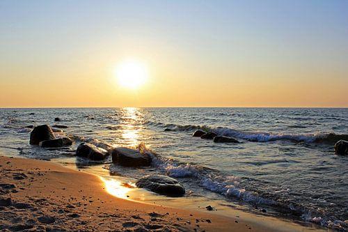 Sunset von Ostsee Bilder