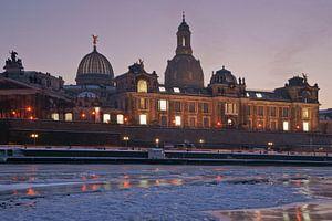 Dresden at wintertime