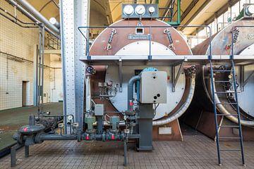 Machinekamer Van Nellefabriek Rotterdam von Pieter Geevers