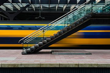 NS Station Rotterdam van Rob Wareman Fotografie
