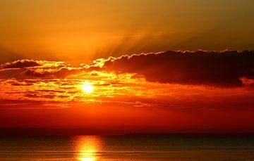 Sonnenuntergang van Heike Hultsch