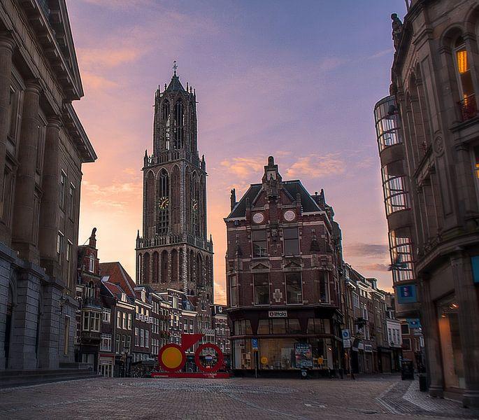 Stadhuisplein,Utrecht van Robin Pics (verliefd op Utrecht)