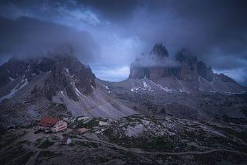 Tre Cime Dolomieten - Rifugio Locatelli van Vincent Fennis