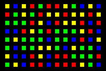 Nested | Center | 12x08 | N=01 | Random #01 | RGBY van Gerhard Haberern