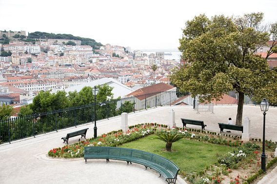 Hills of Lisbon van Frank Diepeveen