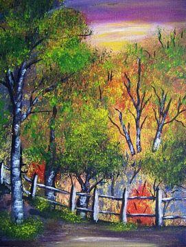 Herbststimmung von Vera Markgraf