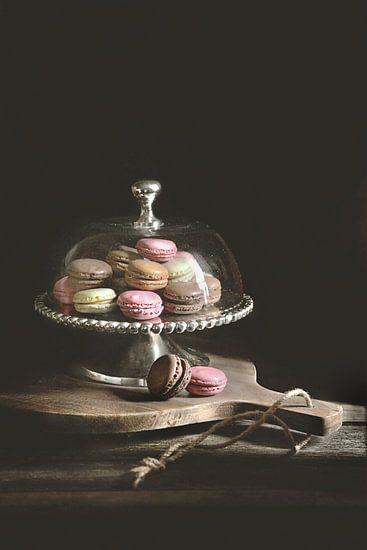 Macarons in low-key van MoodyFood Shop