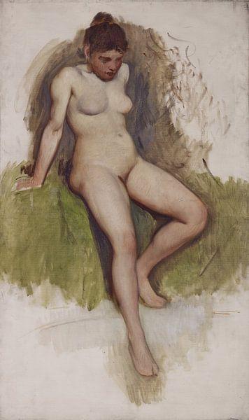 Nackt, Frank Duveneck von Atelier Liesjes