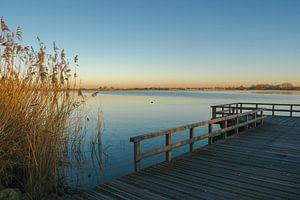 Zondagmorgen glorie bij het Valkenburgse meer sur