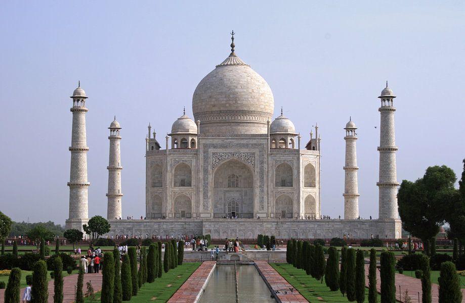 Taj Mahal van Gert-Jan Siesling