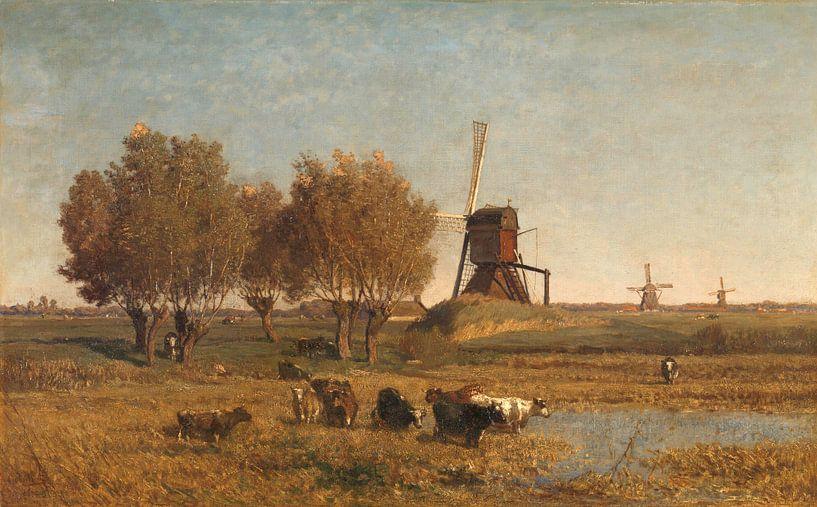 Wasserlauf in Abcoude, Paul Joseph Constantin Gabriël von Meesterlijcke Meesters