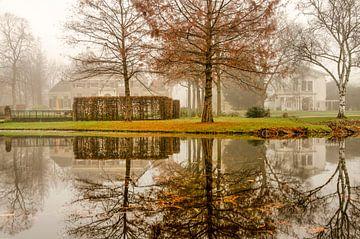 Der Park im Nebel von Frans Blok