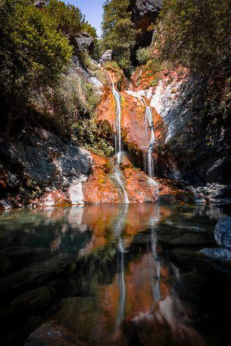 Waterval van de Salmon Creek