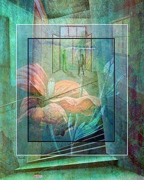 Harmonie im Raum 05 van Gertrud Scheffler