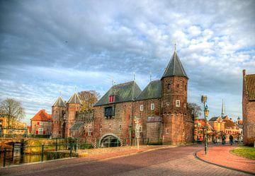 Koppelpoort historisch Amersfoort sur Watze D. de Haan