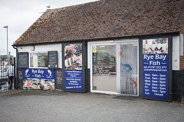 Visserij winkel Rye Engeland van Wilbert Van Veldhuizen