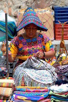 Guatemala Antigua  van Carolina Vergoossen