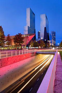 Dynamisch stadsgezicht van Rotterdam van Peter de Kievith Fotografie