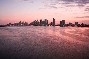 SA11327338 Skyline van Miami bij een roze zonsondergang van BeeldigBeeld Food & Lifestyle