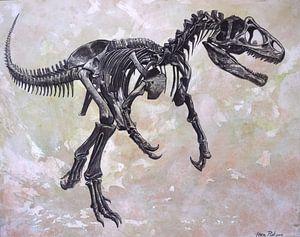 Allosaurus skelet van