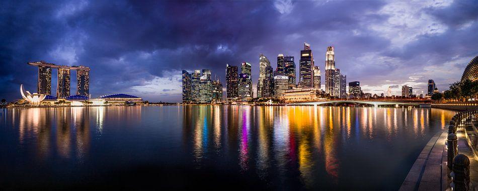 Singapore in al haar glorie van Maarten Mensink