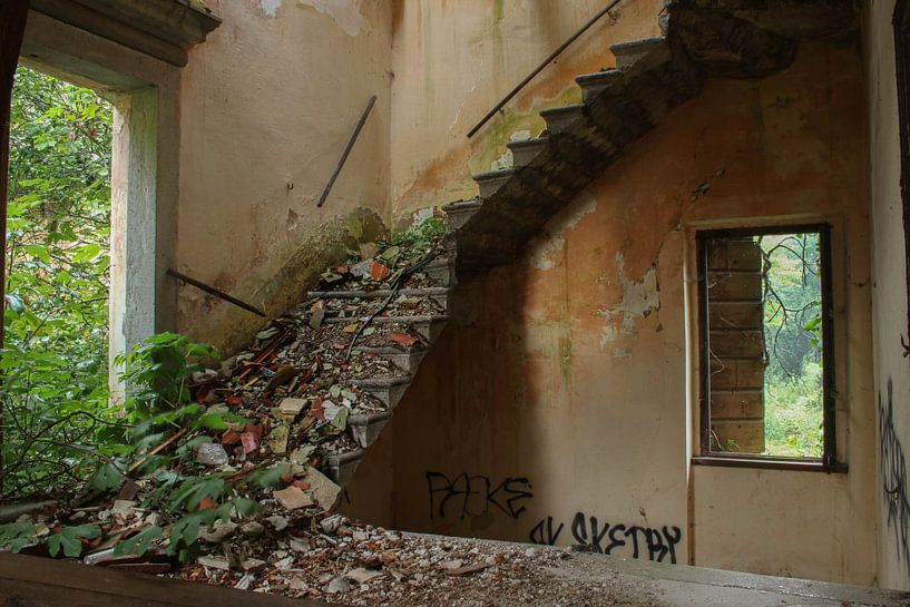 Treppe zum Nichts von AH-Fotografie