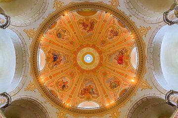 Decke der Frauenkirche in Dresden