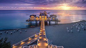 Sunrise Sellin Pier, Rügen, Deutschland