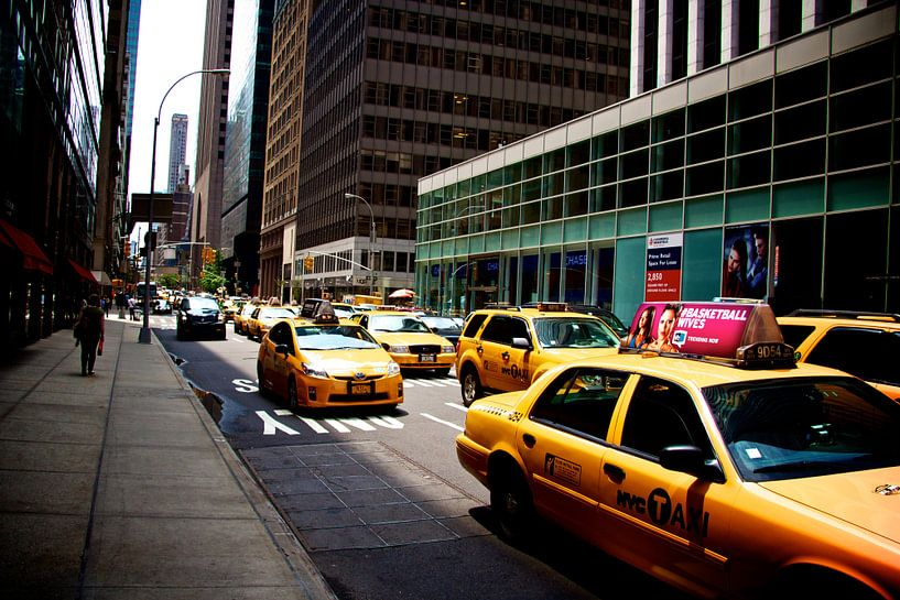 Yellow Cabs in New York sur Blijvanreizen.nl Webshop