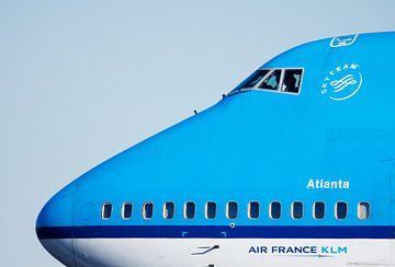 KLM Boeing Atlanta in Schiphol von Hamperium Photography