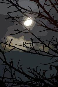 Mondscheinnacht von Leopold Brix