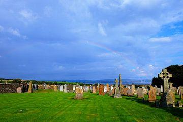 Schotland, oud kerkhof von Marian Klerx