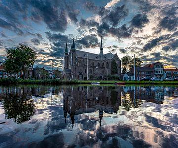 Die Sankt-Joseph-Kirche in Alkmaar von Bas Banga