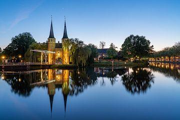 De Oostelijke Poort in Delft van Jeroen Kleiberg