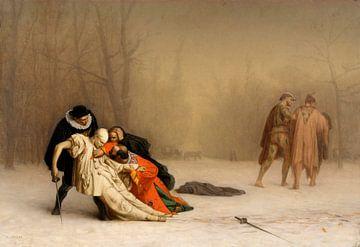 Le duel après la mascarade, Jean-Léon Gérôme