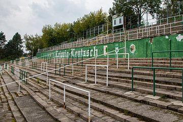 Alfred-Kunze-Sportpark, stadion van BSG Chemie Leipzig van Martijn Mureau