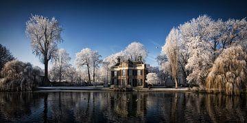 Winter aan de Vecht van Henk Leijen