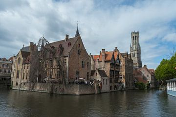 Brugge Rozenhoedkaai, op z'n mooist van Patrick Verhoef