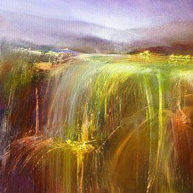 Abondance - la cascade d'or II sur Annette Schmucker