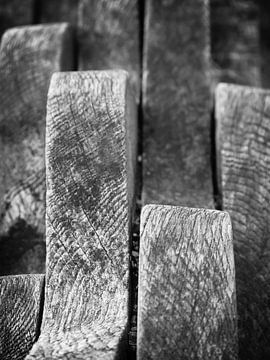 Golvend hout von Inez Wijker