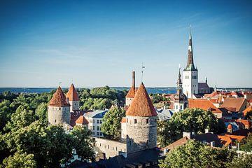 Tallinn - Old Town Skyline sur Alexander Voss