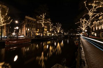 Spiegelgracht, Amsterdam von Leon Doorn