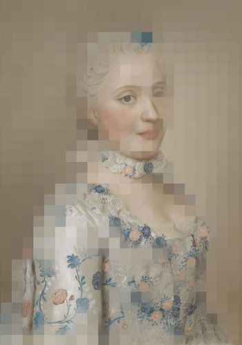 Maria Josepha van Saksen, Dauphine van Frankrijk, Jean-Etienne Liotard