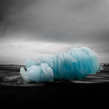 Iceblock Cemetery - Iceland van