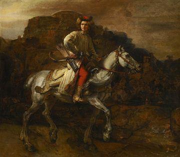 Le cavalier polonais, Rembrandt sur