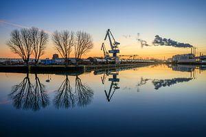 Am Dortmunder Hafen von Frank Heldt